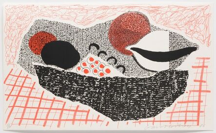 David Hockney, 'Lemons and Oranges, May 1986', 1986