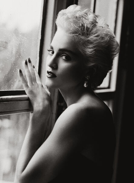 Herb Ritts, 'Madonna at Window, New York City', 1986