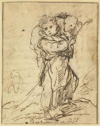 Bartolomé Esteban Murillo, 'The Christ Child as the Good Shepherd', 1675-1680