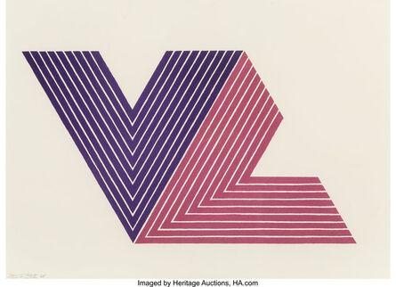 Frank Stella, 'Ifafa I, from V Series', 1968