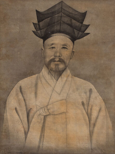 'Portrait of an Elder with Confucian Hat ', Early 20th century