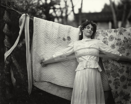 """Sally Mann, 'Untitled from the """"At Twelve"""" Series, Jenny and the Bedspread', 1983-1985"""