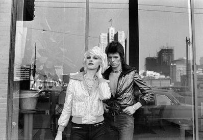 Mick Rock, 'Bowie, Cyrinda Foxe', 1972