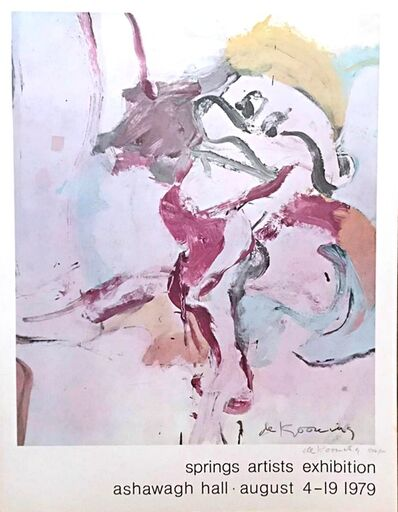 Willem de Kooning, 'Spring Artists Exhibition ', 1979