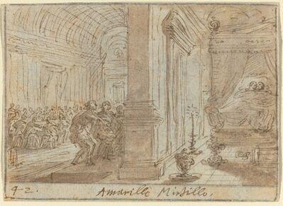 Johann Wilhelm Baur, 'Amarilli and Mirtillo', 1640