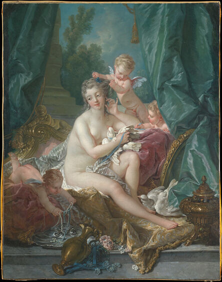 François Boucher, 'The Toilette of Venus', 1751
