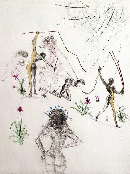 Salvador Dalí, 'Venus in Furs - Negresses, Les Negresses ', 1969