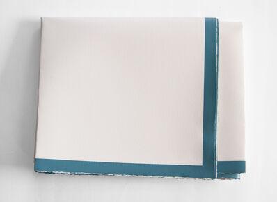 Irma Álvarez-Laviada, 'Bent image VIII.  Industrial paint on paper,75x46,5 cm.', 2015