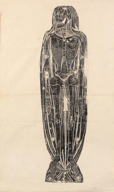 'Shrouded Skeleton', c. 1860