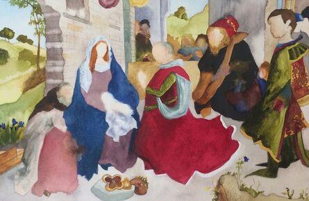 Elise Ansel, 'Study I for Monforte, (after Hugo van der Goes)', 2014