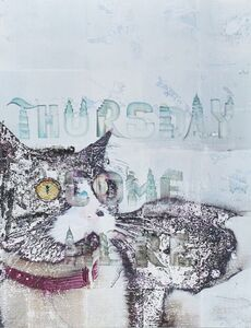 Andrei Koschmieder, 'Thursday and Friday from Catnip High series', 2010
