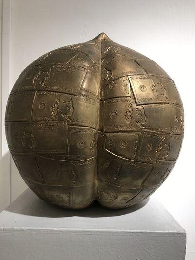 Wu Shaoxiang 吴少湘, '寿桃; Golden Peach', 2009