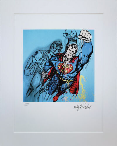Andy Warhol, 'Superman', Late 1980's