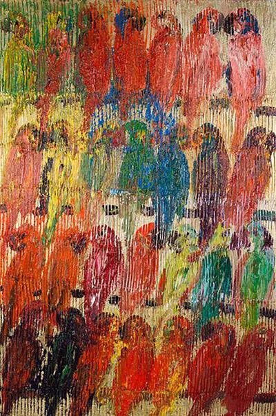 Hunt Slonem, 'Lories', 2013