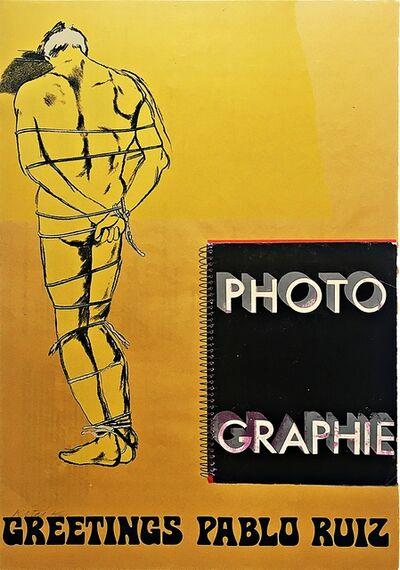 "R. B. Kitaj, 'Greetings Pablo Ruiz, from the portfolio ""Hommage à Picasso"" (Homage to Picasso) (Ramkalawon 165b)', 1973"