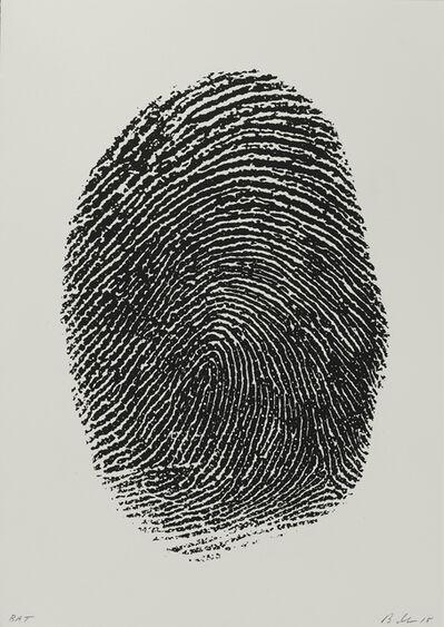 Mike Bidlo, 'Not Manzoni (Impronte pollice sinistro, 1960)', 2015