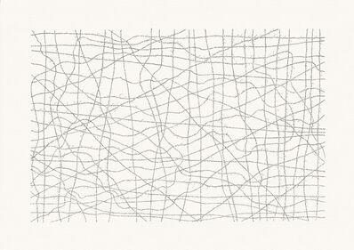 Jacob El Hanani, 'Cursive Hebrew Alphabet', 2006