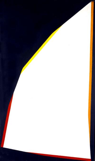 Claudio Verna, 'Contromare', 1969