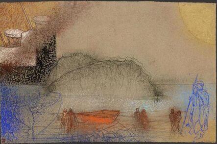 Irving Petlin, 'Landing', 2014