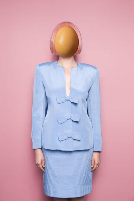 Karen Navarro, 'Untitled (egg face)', 2018