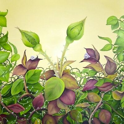 Allison Green, 'April Roses', 2013
