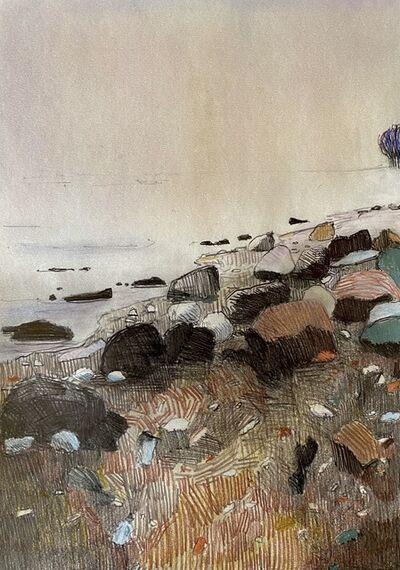 Per Adolfsen, 'A Misty day by the Coast', 2021