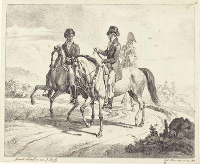 Johann Adam Klein, 'Outing on Horseback', 1811