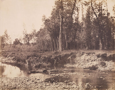André Giroux, 'Scene of a River Ford', 1855c / 1855c