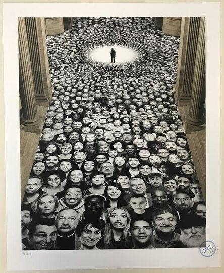 JR, 'Pantheon (Inside Out Serie)', 2014