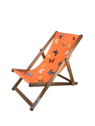 Damien Hirst, 'Deck chair (Orange)', 2008