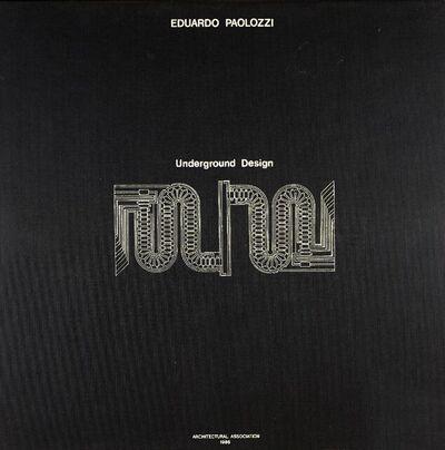 Eduardo Paolozzi, 'Underground Design, Folio X', 1986