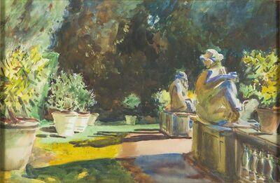 Gertrude Beals Bourne, 'Marlia Garden: Lucca, Italy [After John Singer Sargent]', 1912-1915