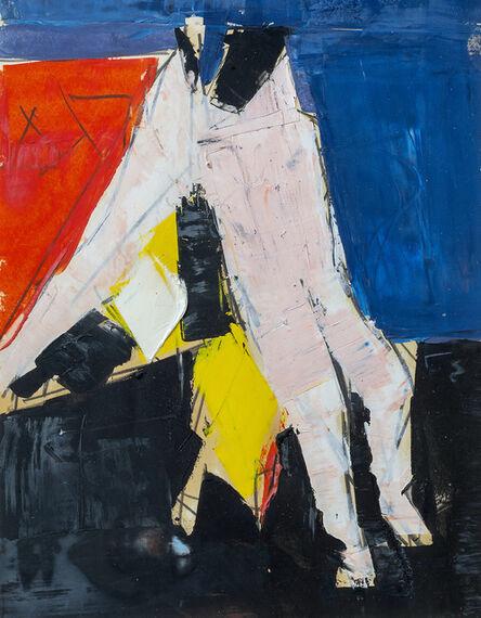 Peter Kinley, 'Standing nude', ca. 1958