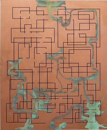 Michael Sailstorfer, 'Maze 53', 2013