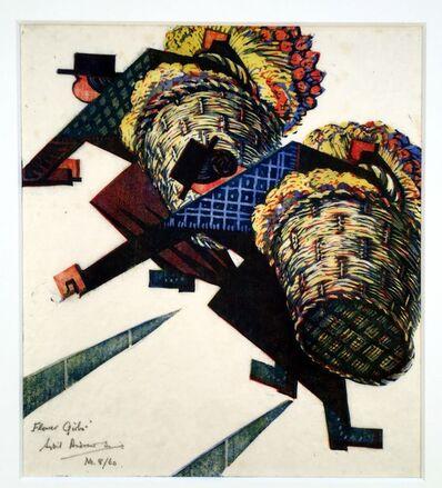 Sybil Andrews, 'Flower Girls', 1934
