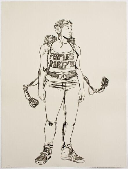 Robert Pruitt, 'People's Party II', 2014