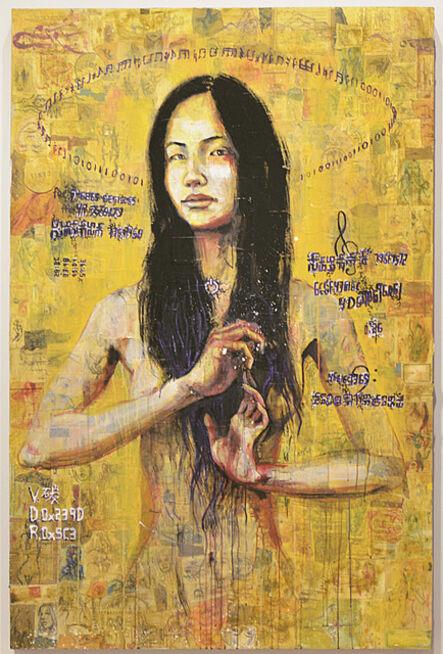 Molly Crabapple, 'Serene Han', 2016