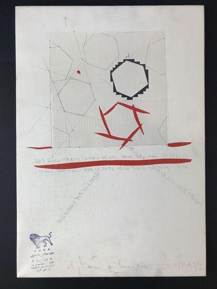 Alighiero Boetti, 'Le Infinite possibilità di esistere', 1988