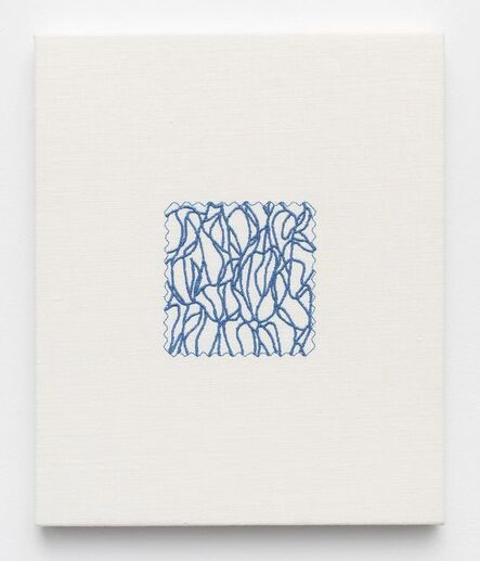 Elaine Reichek, 'Swatch, Marden', 2006