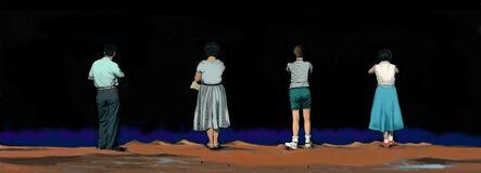 Marjorie Weiss, 'Night Lives Scene 11', 2016