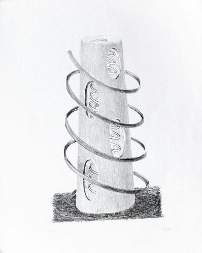 Fausto Melotti, 'Les Deux Spirales', 1973