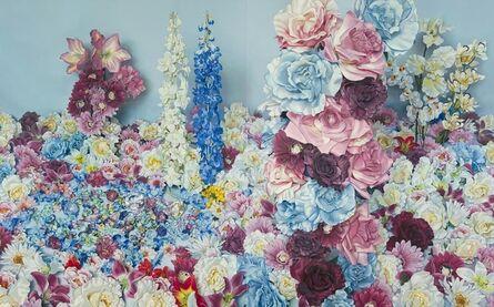 Korehiko Hino, 'Scenery with Blue Roses', 2013