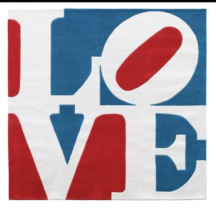 Robert Indiana, 'Chosen Love ( American/France Love)', 1993-2004