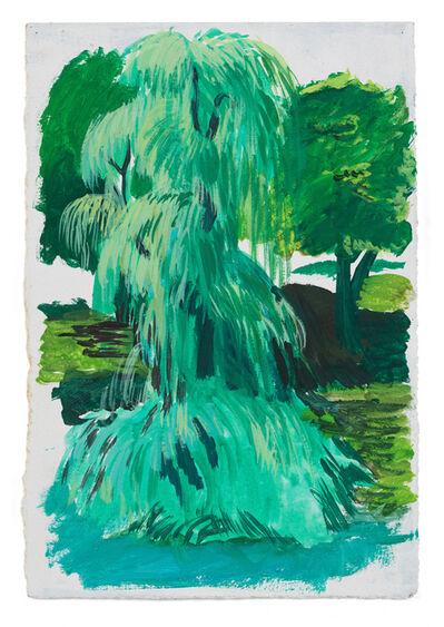 Allison Katz, 'Weeping Willow, Central Park', 2007