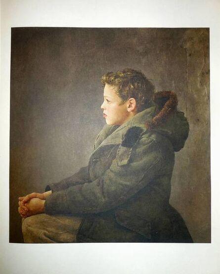 "Andrew Wyeth, 'Rare ""Nicholas"" 1956 Collotype', 20th Century"