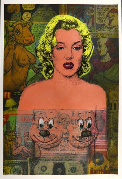Ron English, 'Marilyn Comic', 2011