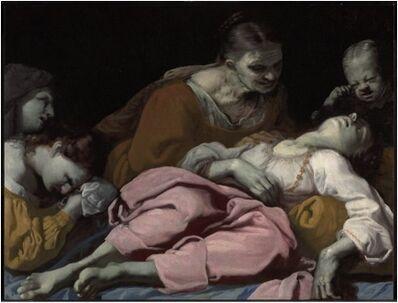Antonio Carneo, 'The Death of Rachel', ca. 1660-70