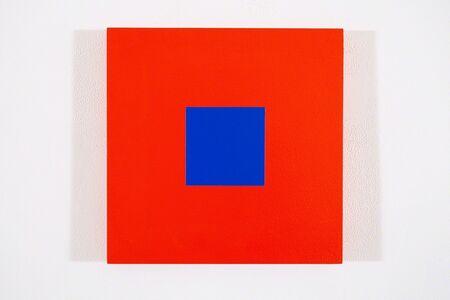 Claude Tousignant, 'Rouge red + blue cobalt', 2017