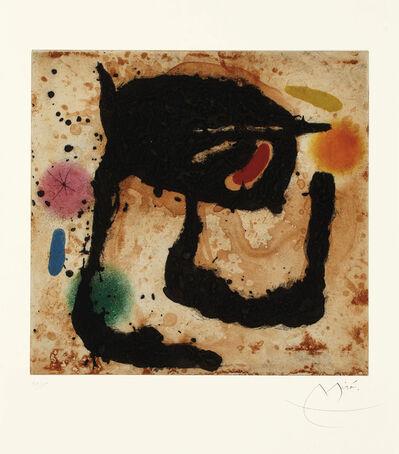 Joan Miró, 'Le Dandy', 1969