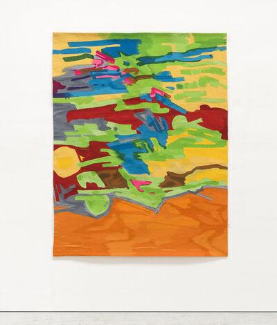 Etel Adnan, 'Marée Basse', 1967-73 / 2017